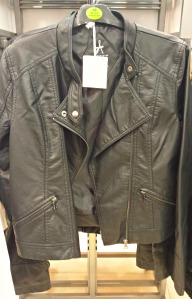 Primark biker jacket £17 Autumn 2014